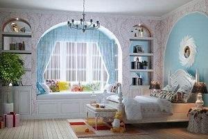 上海装修公司教您儿童房装修如何选择窗帘?