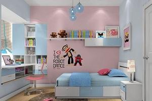 室内装修,儿童房装修:塑造儿童性格从墙面材料选材抓起