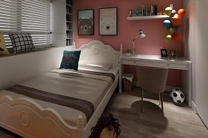 上海家装公司教您怎么才能跟着卧室装修效果图来配置家具?