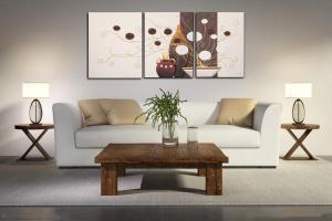 客厅挂件装饰画的种类有哪些?装饰画选购技巧