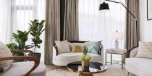 【案例分享】400平现代中式别墅,以白灰蓝打造优雅静谧家!