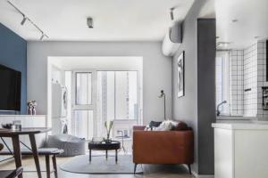63㎡精装小公寓改造,区域功能叠加设计,简直不要太赞!