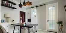 业主的80㎡轻奢风两居室新房,轻奢质感太漂亮,没一点毛病!
