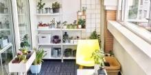 越来越多人阳台不铺瓷砖了,流行用这种,耐看还不过时!