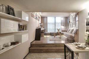 89平米小两室现代简约设计经济适用